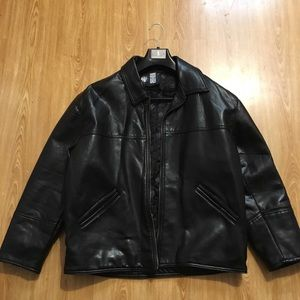 Real leather jacket no longer fits